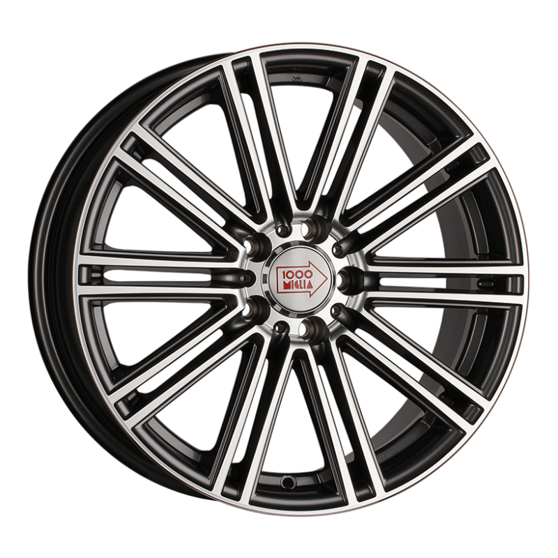 R17 5x120 7,5J ET35 D72,6 1000 Miglia MM1005 Dark Anthracite Polished